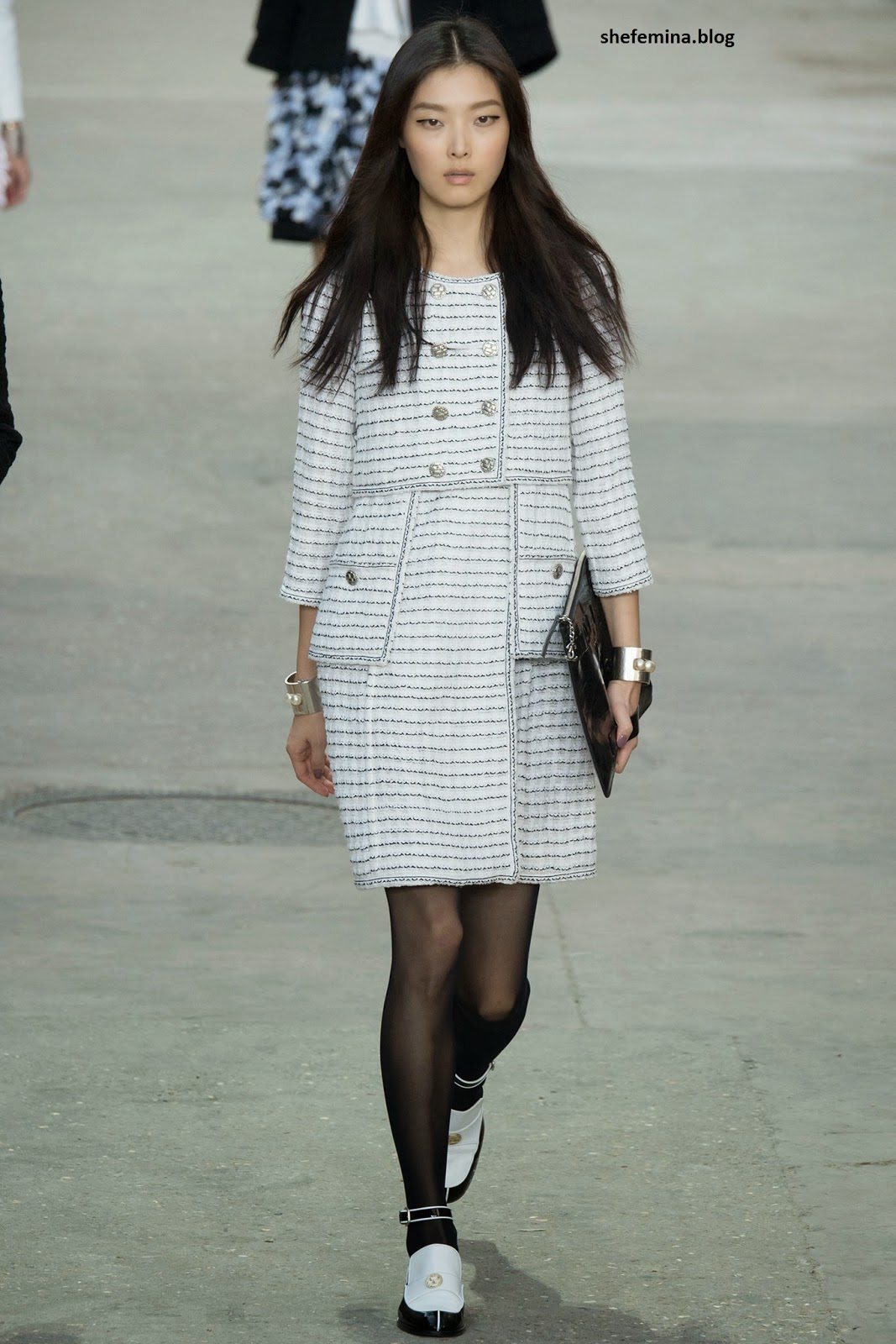 Chanel Spring 2015 dresses HD wallpaper 20
