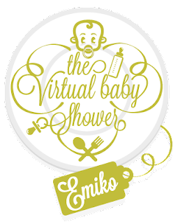 Emiko Baby Shower Party Logo