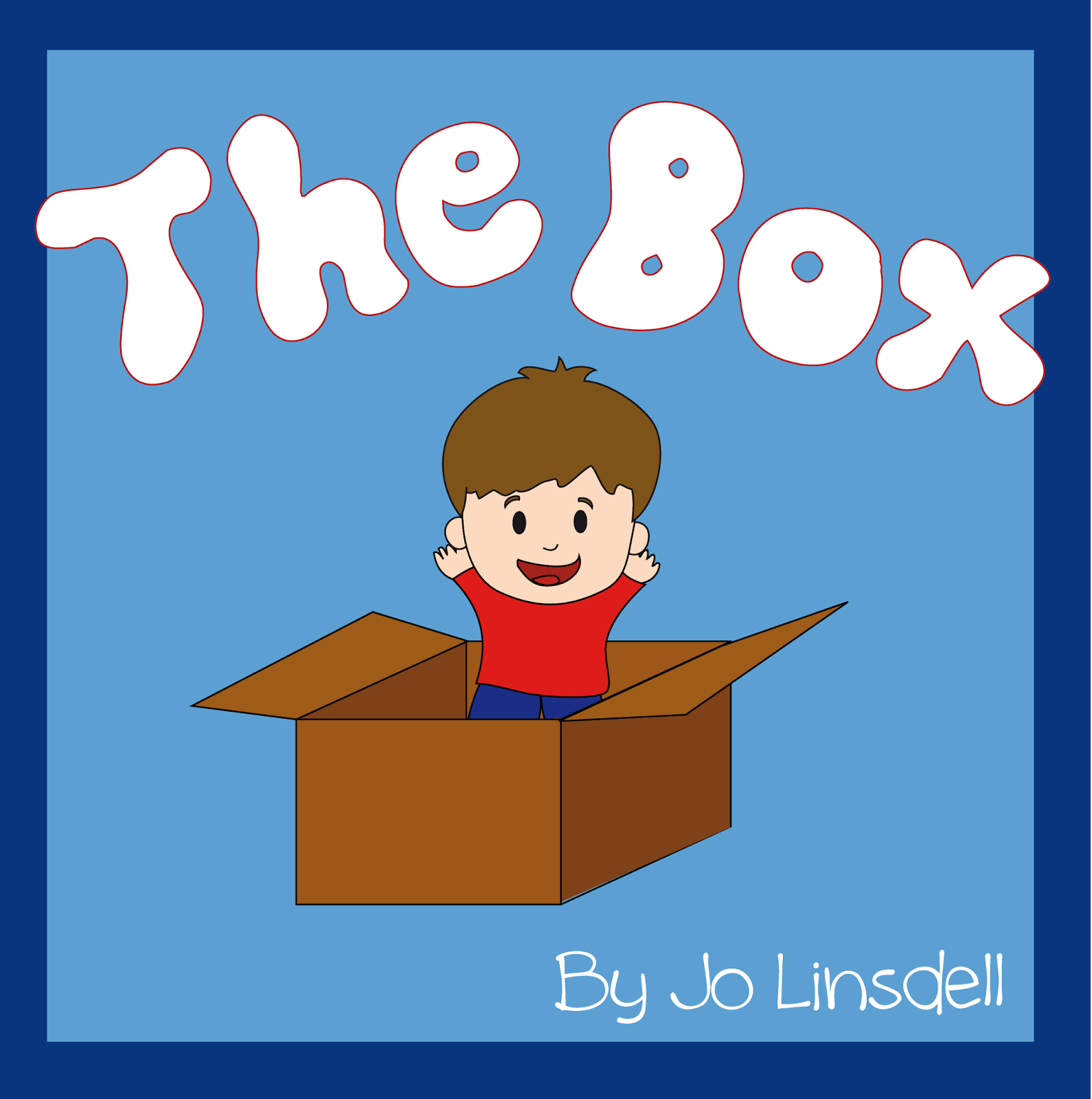 Book Cover, The Box by Jo Linsdell