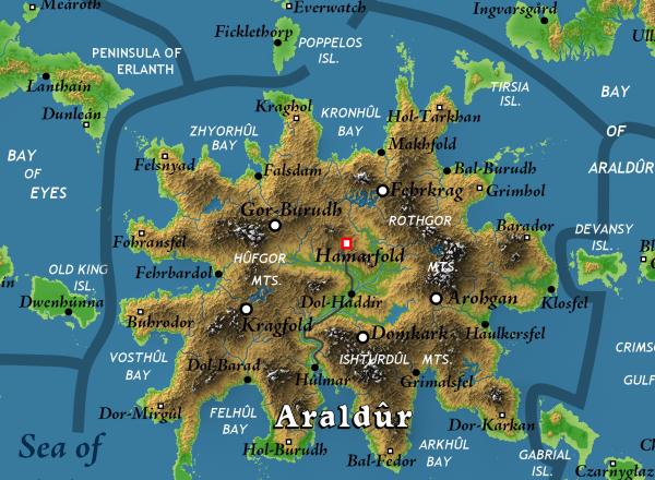 Calidar Bruce Heard Thorfinn Tait