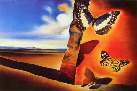 Salvador Dali Butterfly Paintings http://world-visits.blogspot.com/2012/04/great-hero-salvador-dali-paintings-dali.html