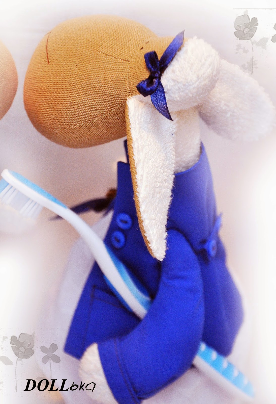 Овечки-стоматологи))))) текстильные игрушки ручной работы