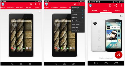 aplikasi Screen Shot android
