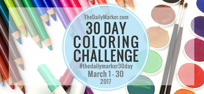 Kathy's colouring challenge