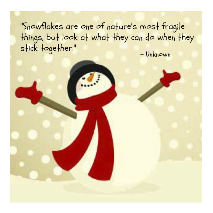 Delightful SNOWMAN Quotes Like Success