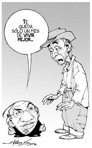 caricatura cartón político