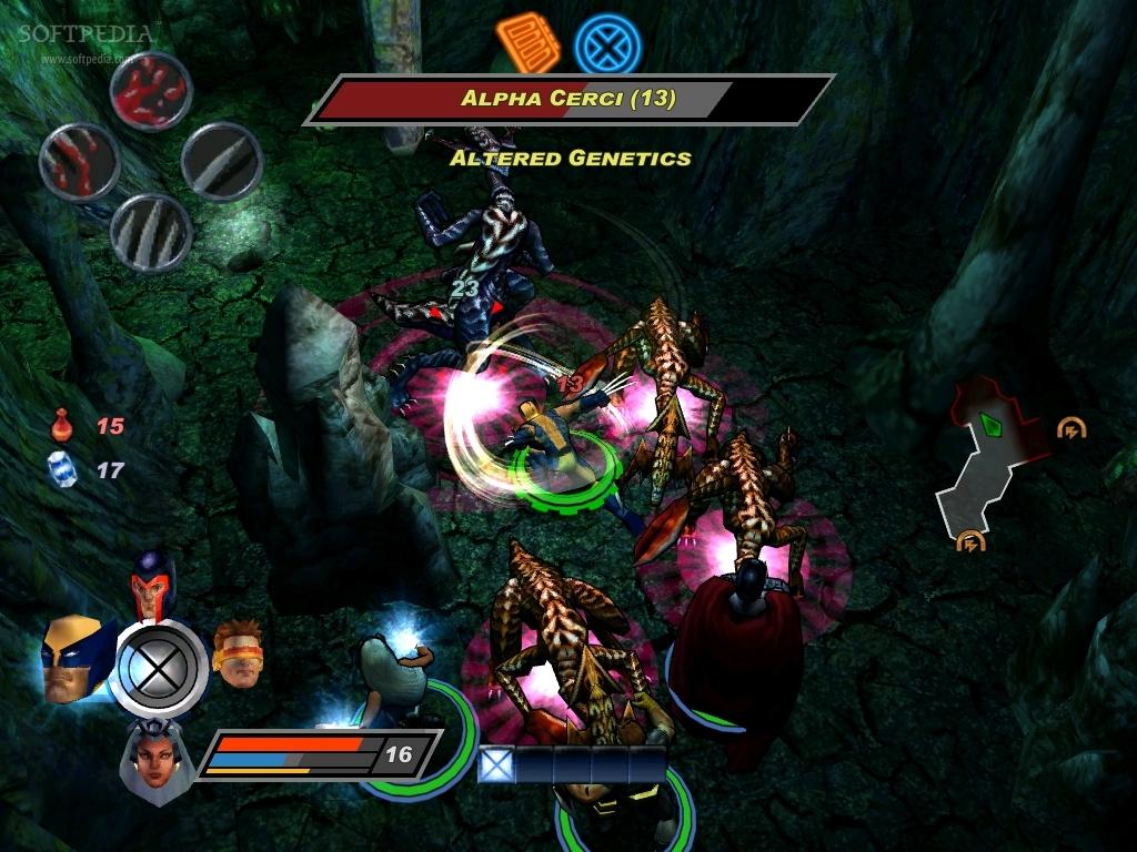 X Men Legends  Danger Room Missions