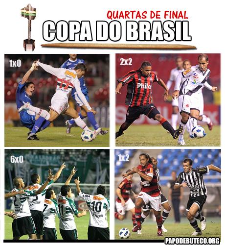 Copa do brasil 2011, São Paulo x Avaí, Flamengo x Ceará, Coritiba x Palmeiras, Vasco x Atlético-PR