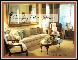 Living Room Changing Color Schemes