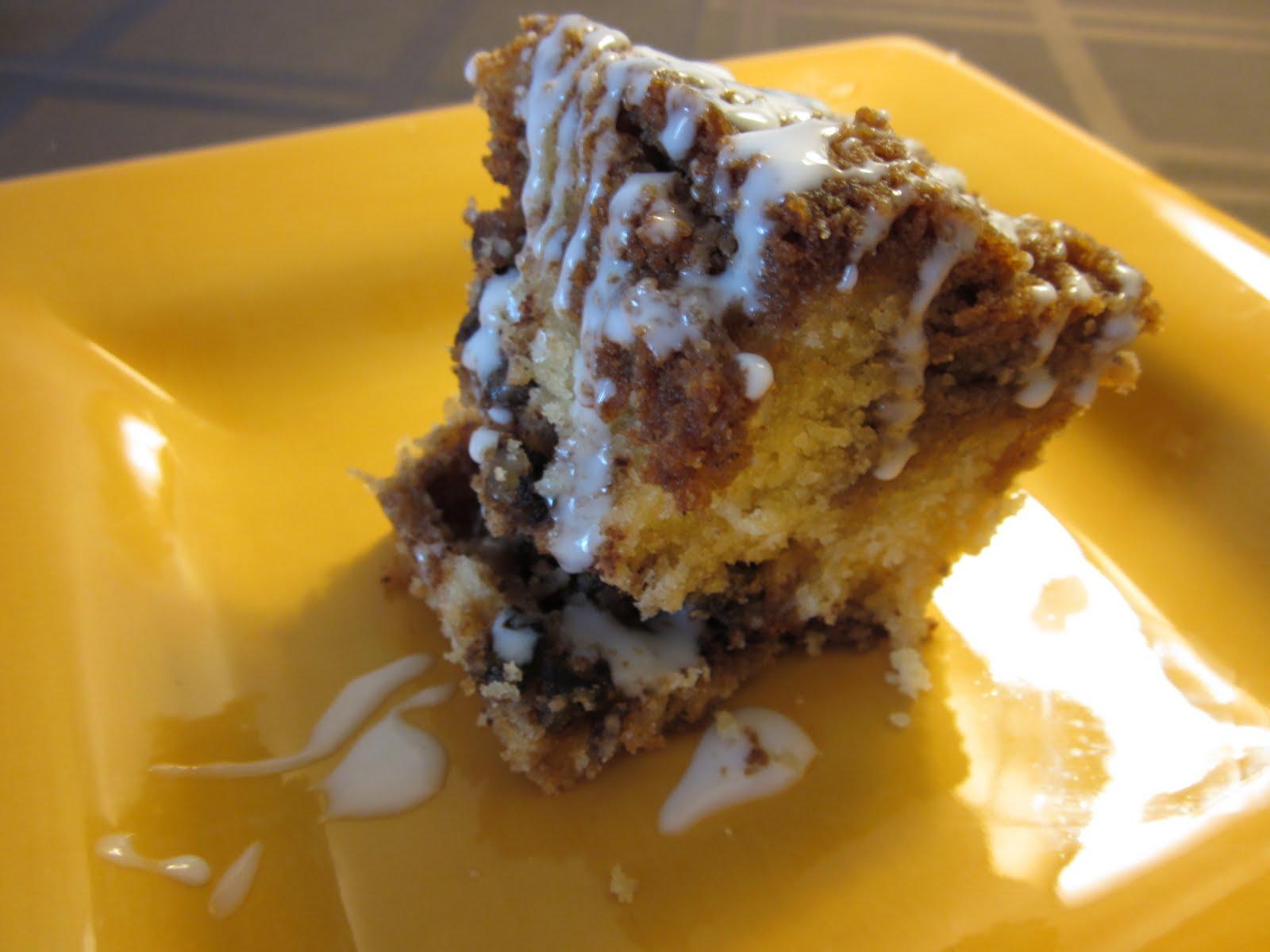 Make Gluten Free Cinnamon Coffee Cake From Scratch