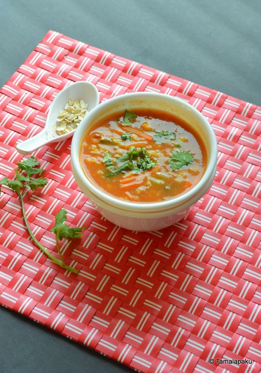 Oats-Vegetable Soup