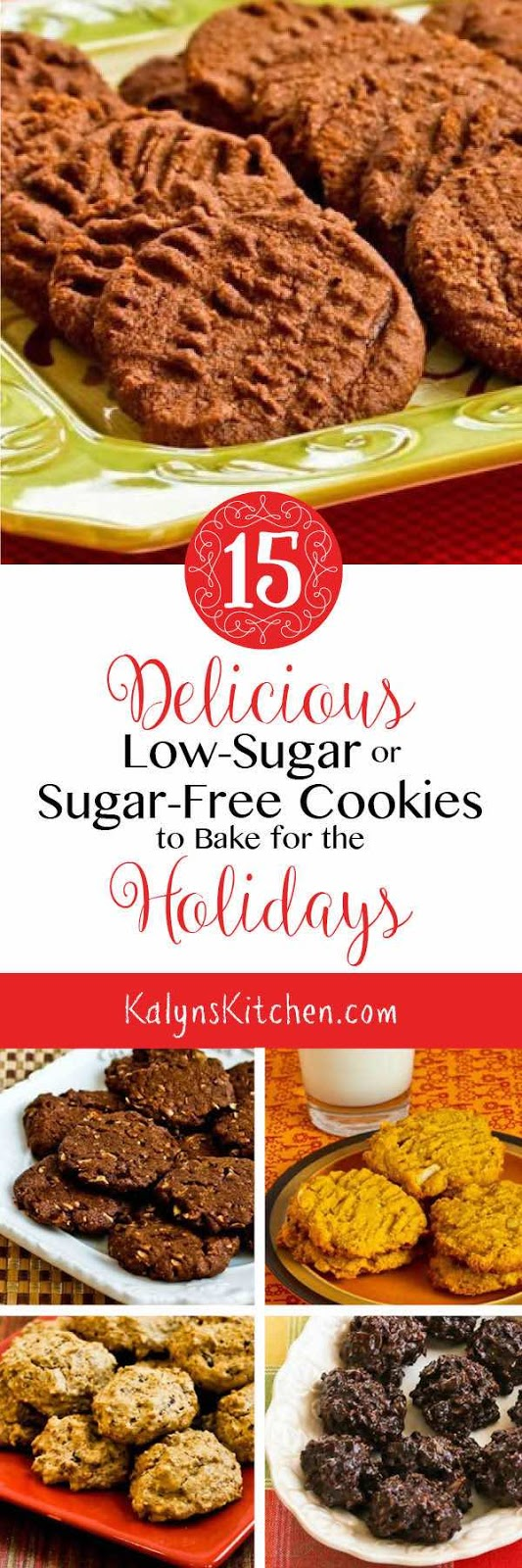 15 Delicious Low-Sugar or Sugar-Free Cookies to Bake for the Holidays ...