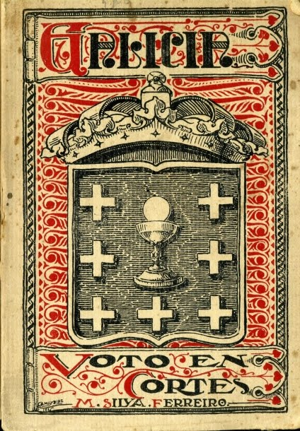 1925 GALICIA,VOTO EN CORTES