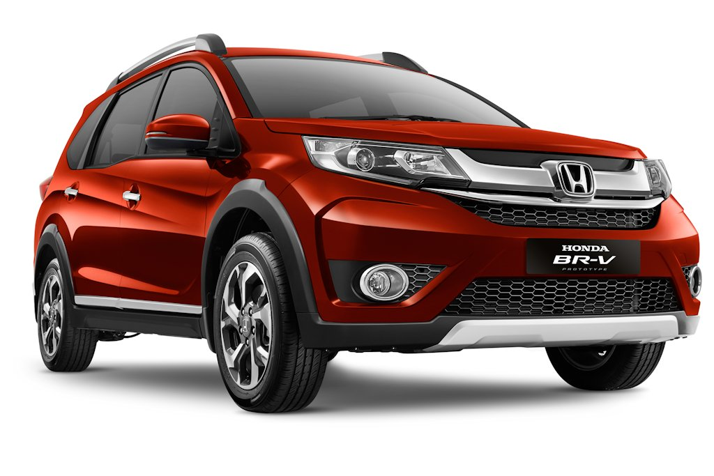 Honda shows off br v 7 seater small crossover in indonesia for Honda 7 passenger