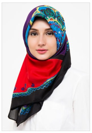 Trend Fashion Hijab Trendy Lebaran 2016