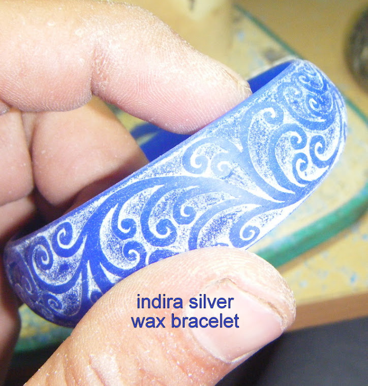 INDIRA SILVER WAX DESIGN & PRODUCTION