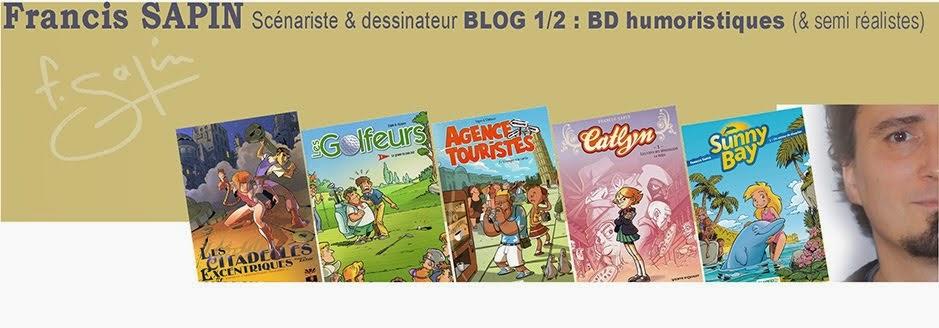 Francis SAPIN BD humoristiques