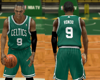 NBA 2K14 Boston Celtics Jersey Patch