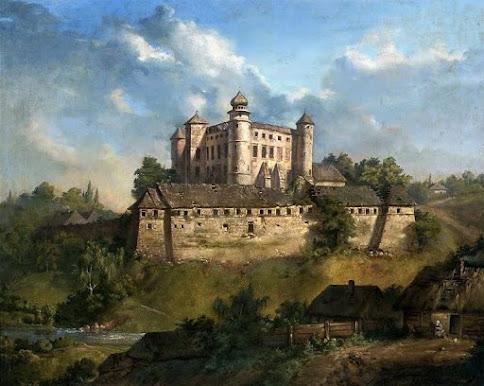 Zamek w Wiśniczu (1857)