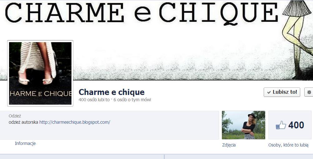 charme e chique na facebooku