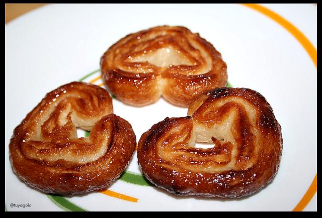Palmeritas dulces - primer plano