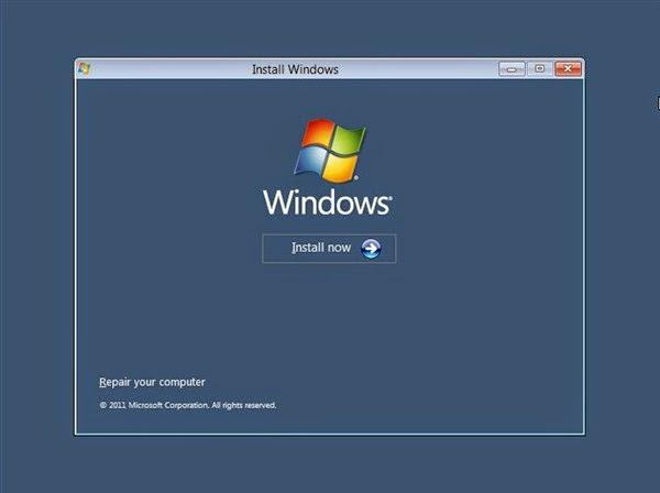Cara Mudah Install Windows 8