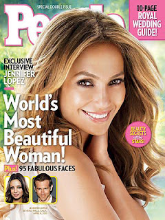 Jennifer Lopez, 2011 Most Beautiful Woman in the World, People Magazine