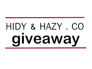 HIDY & HAZY.CO GIVEAWAY