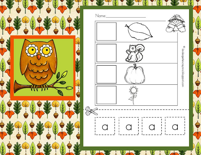 Displaying 19> Images For - Letter I Worksheets Cut And Paste...