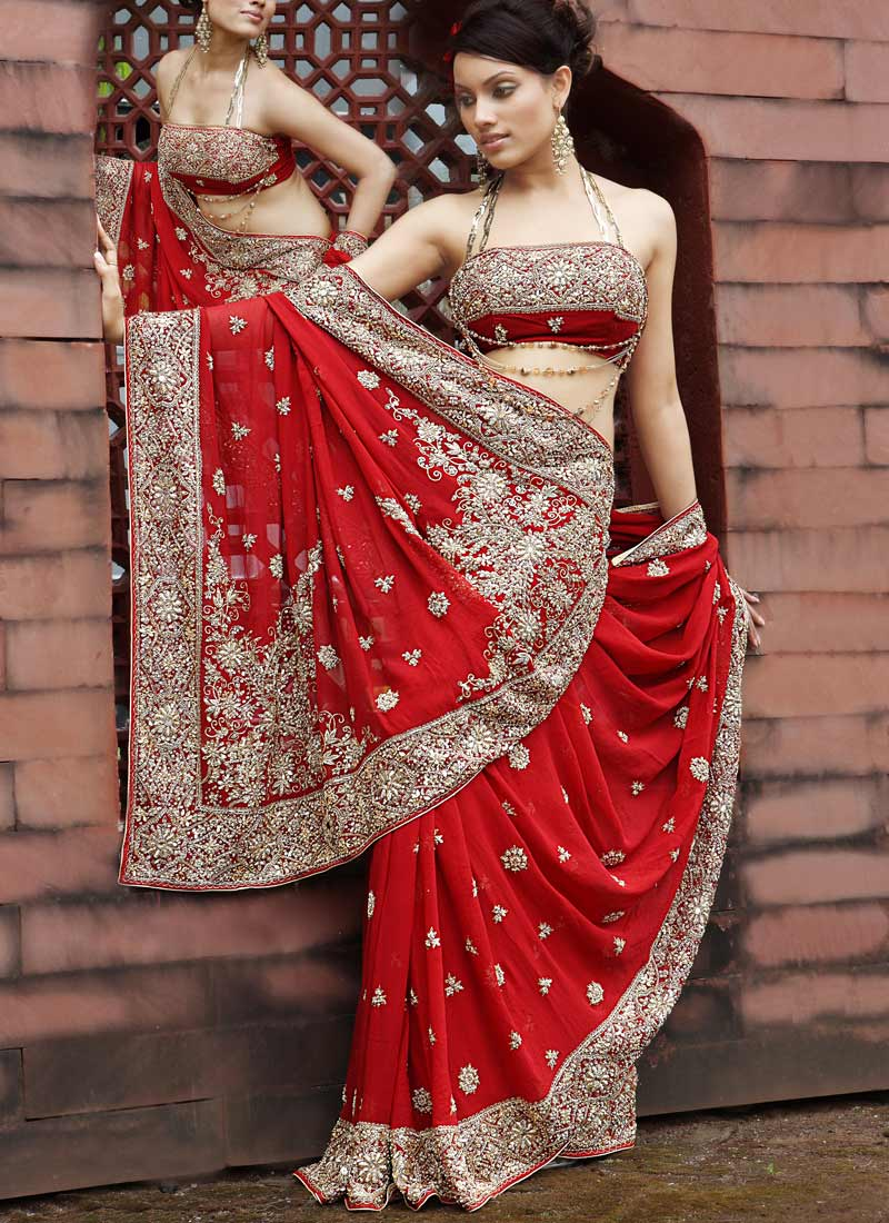 Indian bridal dresses global women panel for Most expensive wedding dress in india
