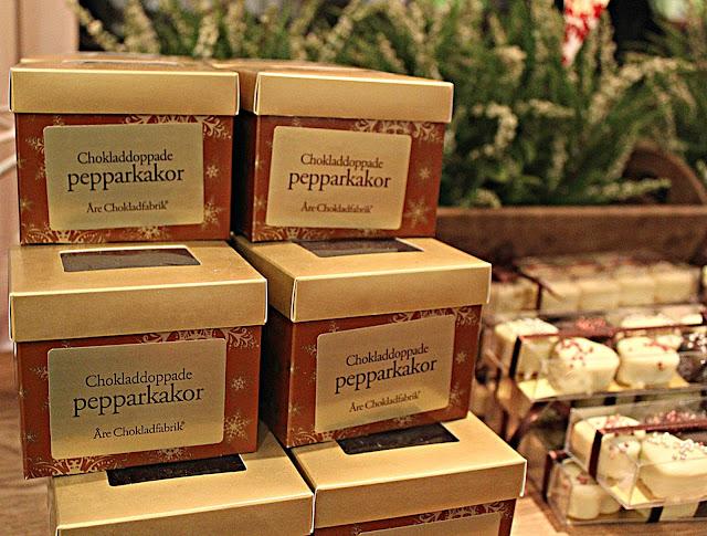 chokladdoppade pepperkakor