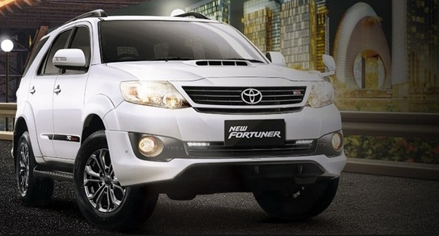 2018 Toyota Fortuner Specifications