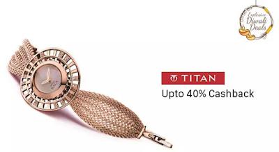 Titan Women Watches Flat 40% Cashback