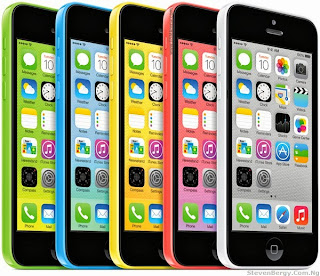 Apple iPhone 5C - Green, Blue, Yellow, Pink and White