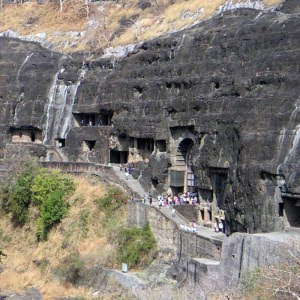 7 wonders of the world Ajanta Caves in India