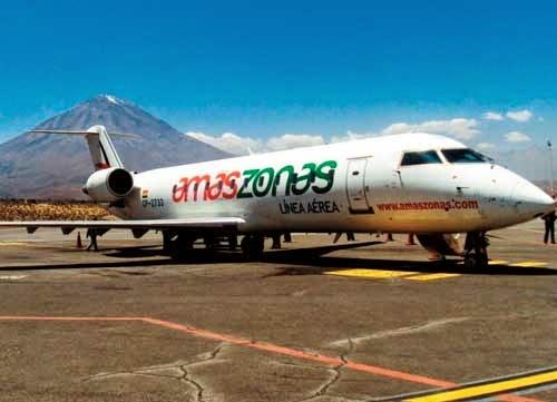 La aerolínea Amaszonas operará la ruta Salta-Tarija