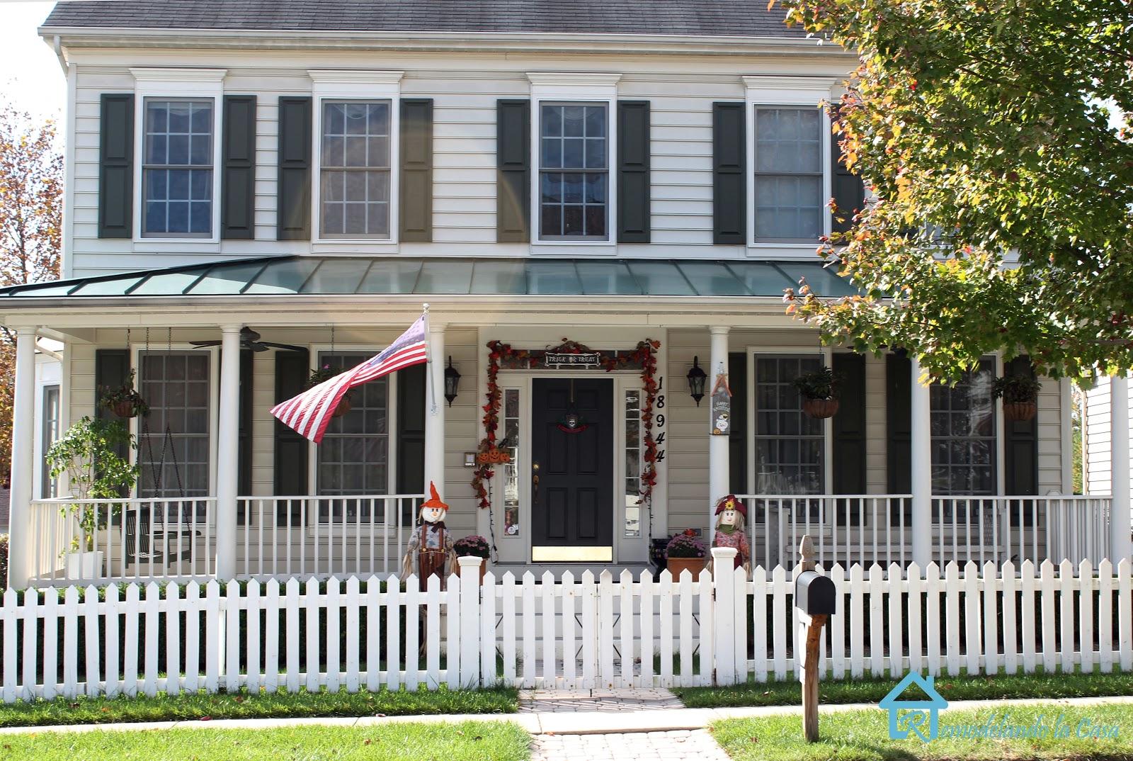 remodelando la casa fall halloween porches