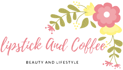 lipstick and coffee