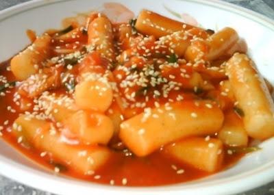 Makanan Korea Ddukbokkie