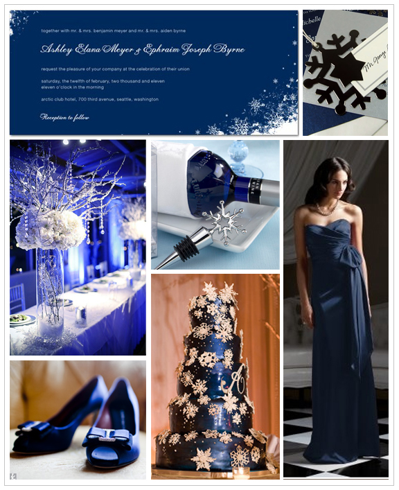 Midnight Blue Wedding Theme