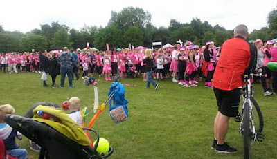 Cancer Research UK Race For Life 2015 Heaton Park, Manchester
