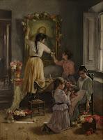 JOAN BRULL Mes de Maria c. 1894