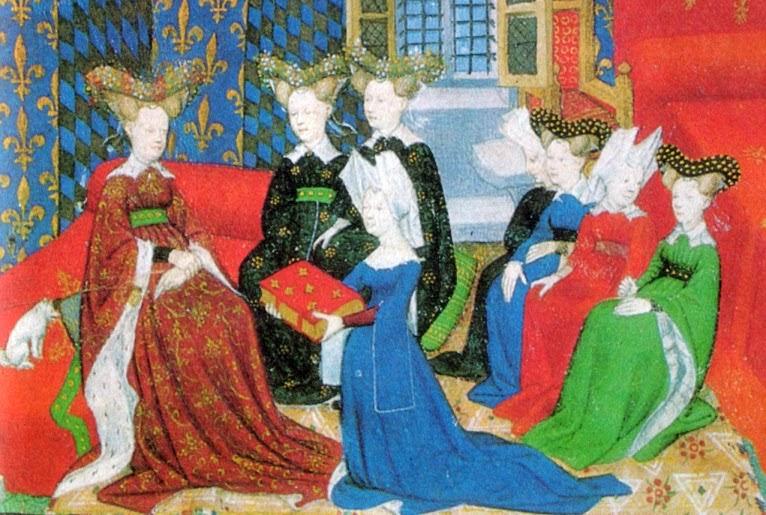 Christine de Pisan et Isabeau