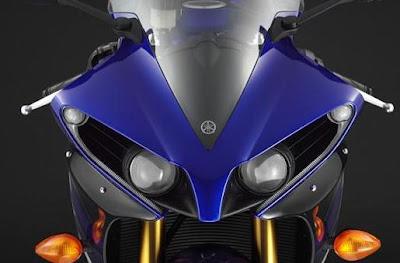 2012 Yamaha R1 led lamp