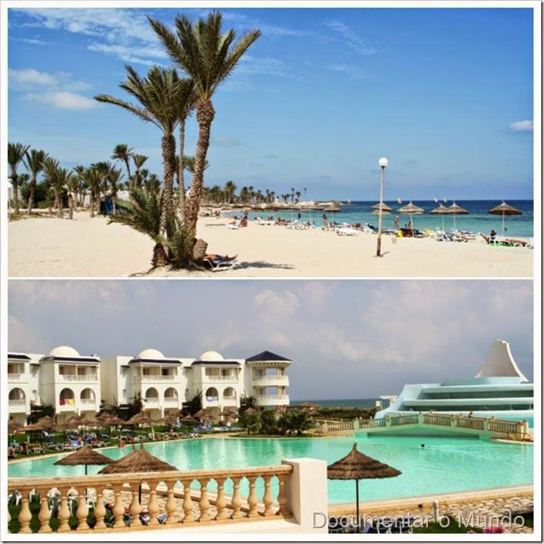 Ilha de Djerba; Hotéis de Praia na Tunísia
