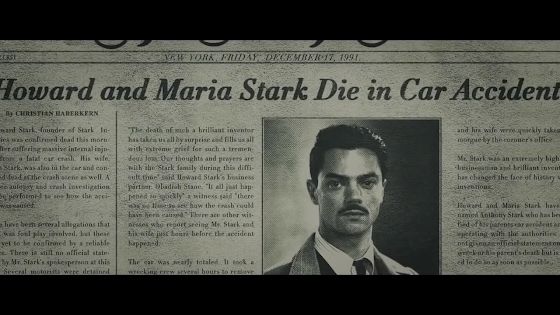 Howard Stark Killed