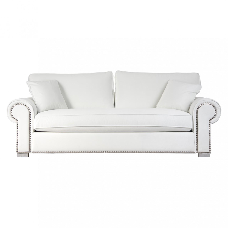 Otra decoracion otra decoracion - Sofa blanco polipiel ...