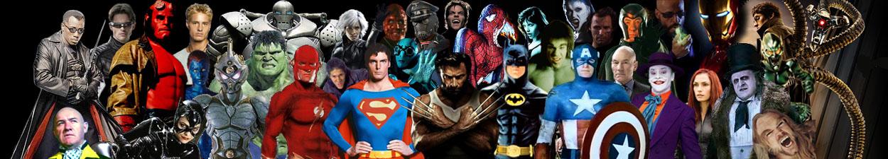 Peliculas de Superheroes... y Villanos