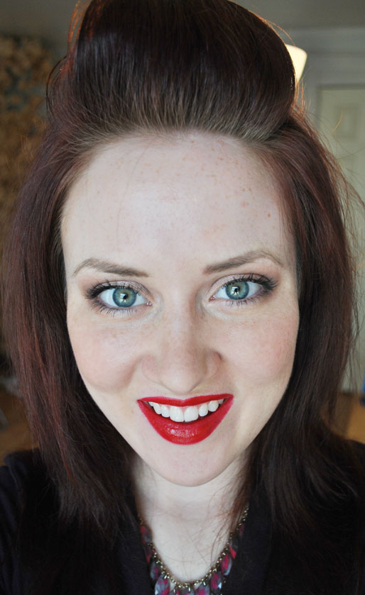 OCC lip tar, obsessive compulsive cosmetics, makeup photo a day, lip tar nsfw