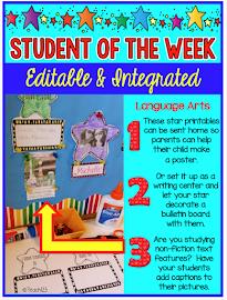 Editable Star Student